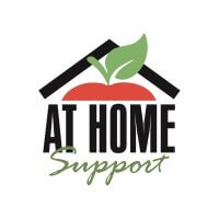 At Home Support logo